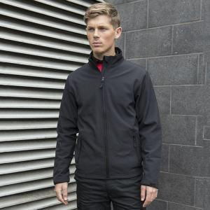 Smart softshell jacket embroidered with custom logo