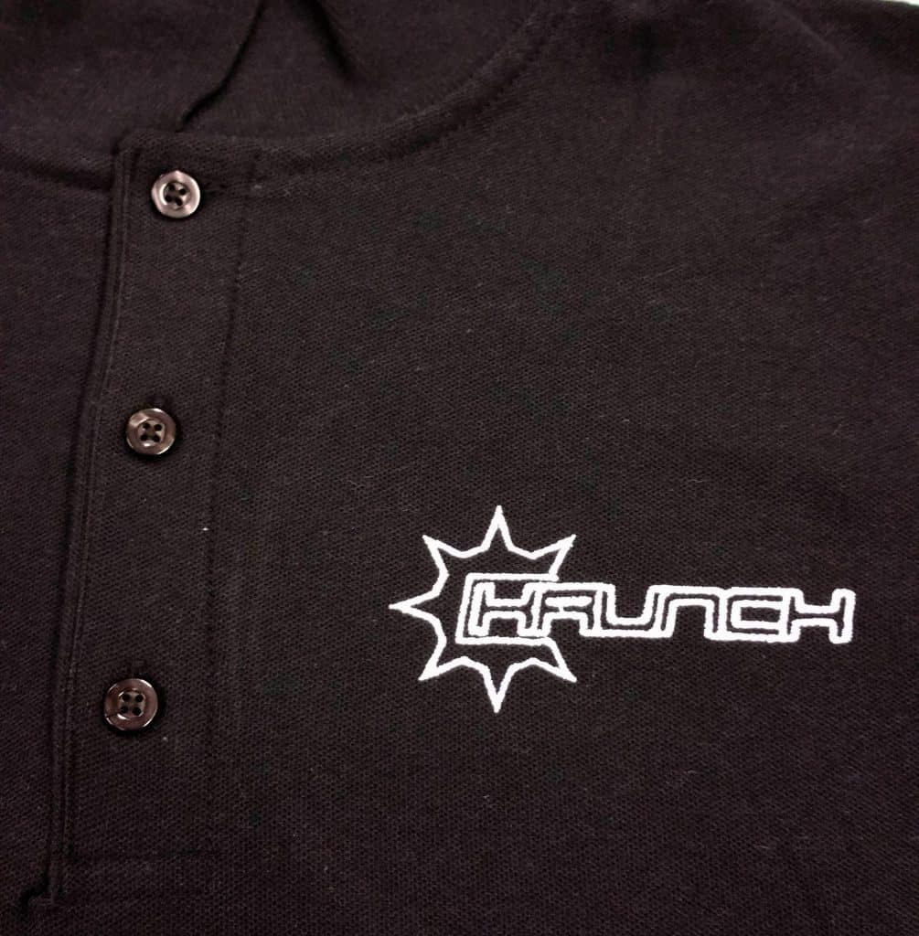 Krunch Embroidered Polo Shirt Discount Workwear Uniforms