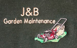 High quality embroidered logo personalised workwear