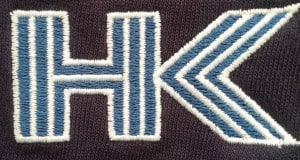 HK workwear logo embroidery