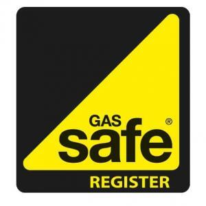 Gas Safe logo in black. Hi-Res so good for printed materials. Free download for Dynamic Embroidery.