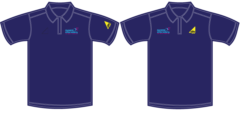 Embroidered Gas Safe Polo Shirts, gas safe polo, gas safe clothing dynamic embroidery