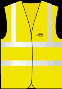 gas safe logo hi-vis vest