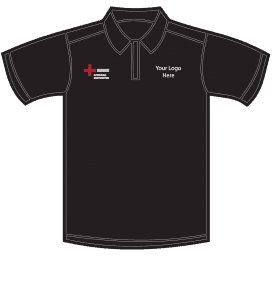 niceic workwear black t-shirt