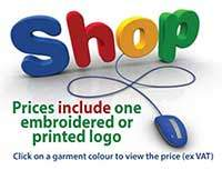 Shop on line for embroidered workwear and uniform here at Dynamic Embroidery