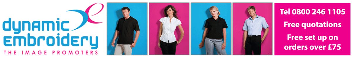 Personalised Workwear & Uniforms for Work UK | Dynamic Embroidery