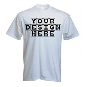 Custom T-Shirt Printing, full colour T-shirt printing, embroidered t-shirts