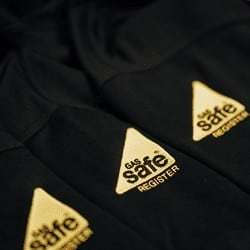 Dynamic Embroidery is licenced to reproduce the Gas Safe logo